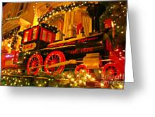 Christmas Express Greeting Card