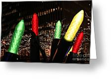Christmas Festive In New York City Greeting Card