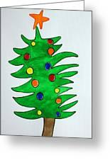 Christmas Fir-tree Greeting Card