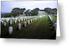 Christmas Fort Rosecrans National Cemetery  Greeting Card