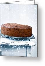Christmas Fruit Cake Greeting Card