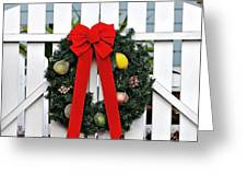 Christmas Garland Greeting Card