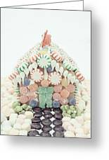 Christmas Gingerbread House Greeting Card