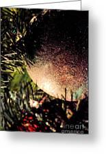 Christmas Glitter Greeting Card