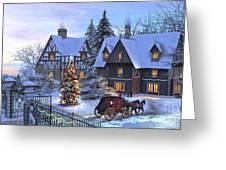 Christmas Homecoming Greeting Card