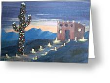 Christmas In Az Greeting Card