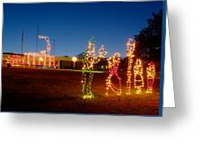 Christmas In Cayce-1 Greeting Card