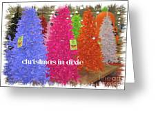 Christmas In Dixie Greeting Card