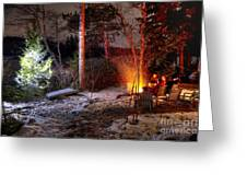 Christmas In Maine N0088 Greeting Card