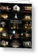 Christmas In Mauricetown  Greeting Card