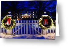 Christmas In The Country Greeting Card