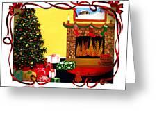 Christmas - Memories - Ribbons - Bows Greeting Card