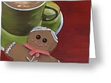 Christmas Morning Greeting Card by Natasha Denger