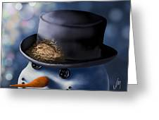 Christmas Nest Greeting Card