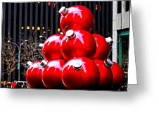Christmas New York Style Greeting Card