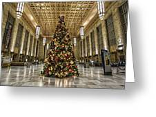 Christmas On 30th Street Greeting Card