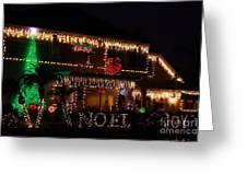 Christmas On East Lake Greeting Card