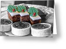 Christmas Pastries Greeting Card