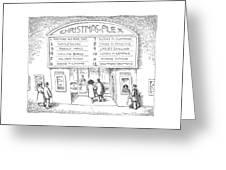 Christmas-plex Greeting Card