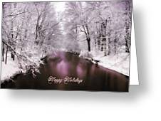 Christmas Pond Greeting Card