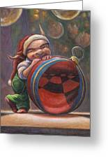 Christmas Reflections Greeting Card by Leonard Filgate