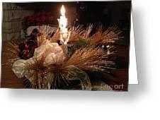 Christmas Shining Light Greeting Card