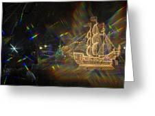 Christmas Ship Greeting Card