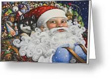 Christmas Stowaway Greeting Card