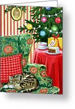 Christmas Tea Greeting Card