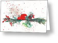 Christmas Theme 2 Greeting Card