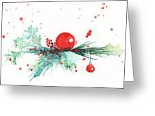 Christmas Theme 3 Greeting Card
