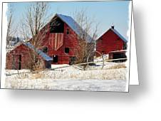 Christmas Time In Idaho Falls Greeting Card