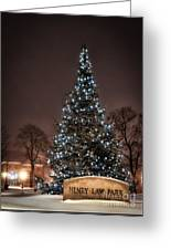 Christmas Tree Dover Nh Greeting Card