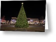 Christmas Tree Hampton City Center  Greeting Card