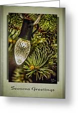 Christmas Tree Light Greeting Card