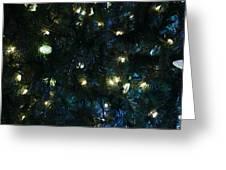 Christmas Tree Lights Greeting Card