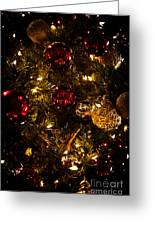 Christmas Tree Ornaments 3 Greeting Card