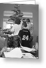 Christmas Tree Prep Greeting Card