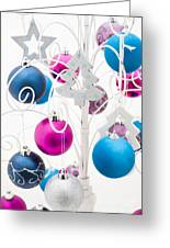 Christmas Tree Tree Greeting Card by Anne Gilbert