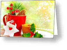Christmas Utensil Set Greeting Card