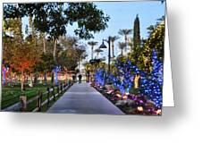 Christmas Walk Greeting Card