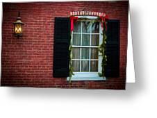 Christmas Window #1 Greeting Card