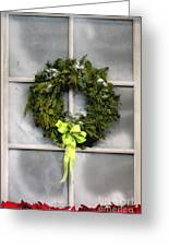 Christmas Windowpane Greeting Card