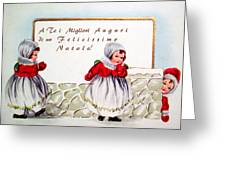Christmas Wishes In Italian Greeting Card