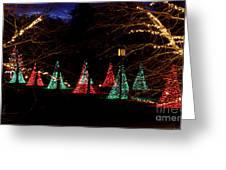 Christmas Wonderland Walk Greeting Card