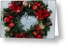 Christmas Wreath Greeting Card Greeting Card
