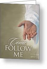 Christ's Hand Greeting Card