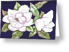 Christy's Wedding Magnolia Greeting Card