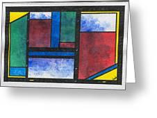 Chromatic Vision 4 Greeting Card