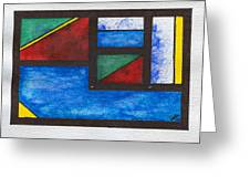 Chromatic Vision 2 Greeting Card